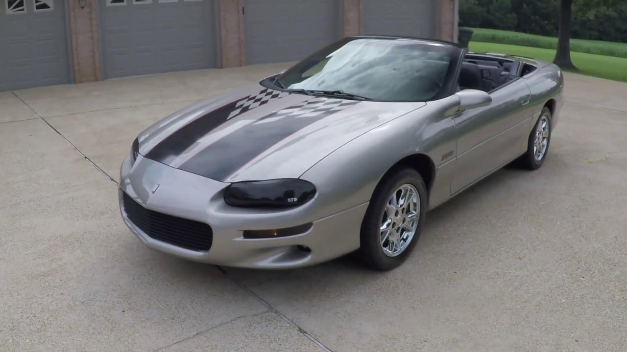 West Tn 2002 Chevrolet Camaro Z28 Convertible Bbk Headers For Info Www Sunsetmotors Com