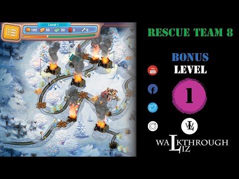Rescue Team 8 - Bonus Level 1 Walkthrough |