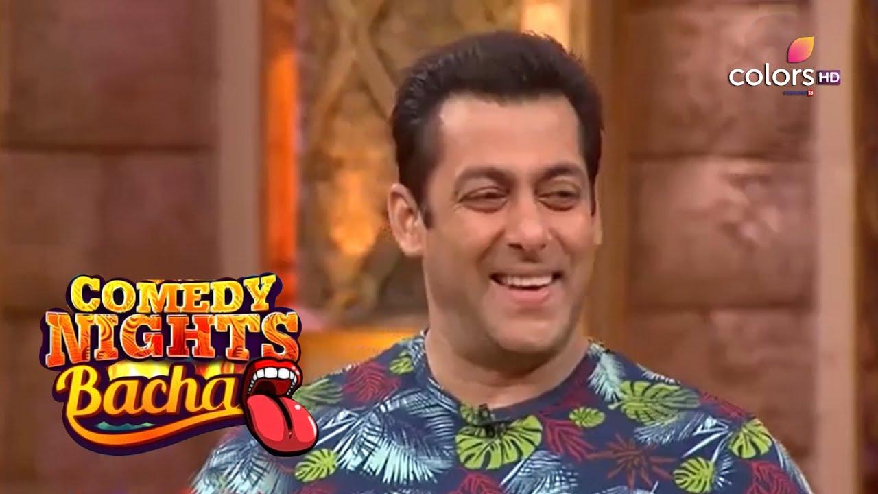 Comedy Nights Bachao | Krushna Chokes When He Sees Salman Behind Him