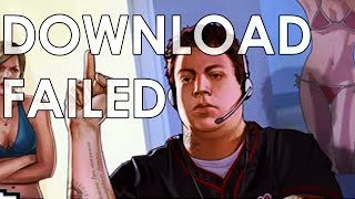 Downloading GTA 5 Without Steam - SUPER SLOW - RockStar Social Club Downloader