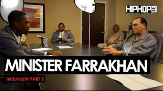 Minister Louis Farrakhan Talks Issues That Directly Effect The Black Community & More (Part 2 of 3)