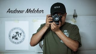 Andrew Melchor Talks Mac Miller Wearing His Merch, Shooting With Brandon Larracuente & More