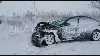 Accident rutier în județul Constanța, între localitățile Pietreni și Viișoara