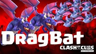 Drag Bat   TH 12   Dragons + Bat Spell   3 Star Attack   balloons   clash of clans   COC 09/19 CW