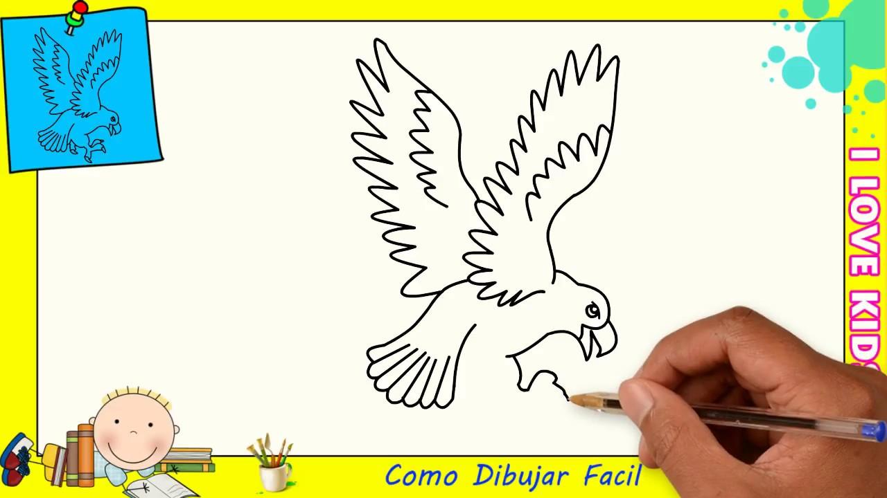 Como Dibujar FÁcil MÉtodo Para Principiantes Y Como: Imagenes De Aguilas Para Dibujar Www Imagenesmy Com
