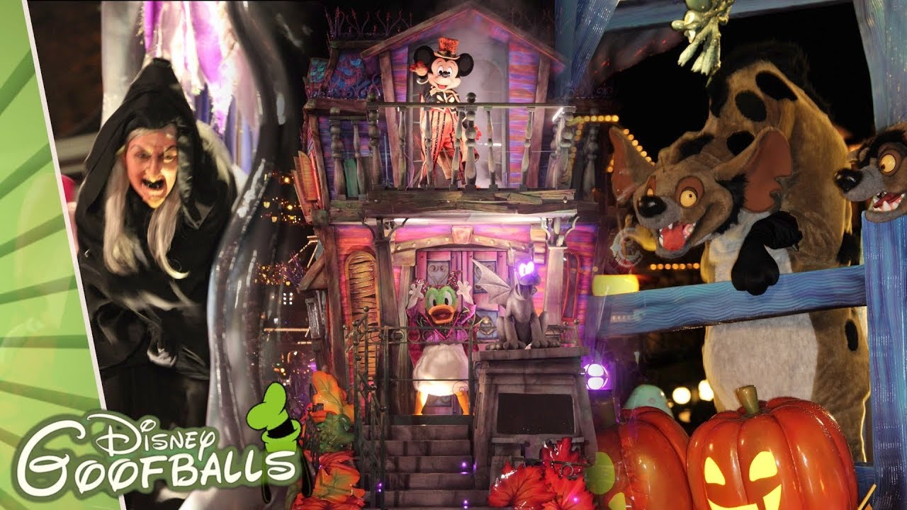 Disney Soiree Halloween.Halloween Soiree Party At Disneyland Paris 2018 Youtube