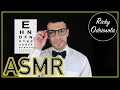 ASMR - Eye Exam Role Play (Close Up Male Whisper, Relaxation & Sleep, Doctor)