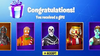 NEW FORTNITE UPDATE OUT NOW! NEW GIFTING SKINS IN FORTNITE! (FORTNITE BATTLE ROYALE)