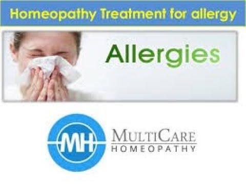 Allergies part 1 homeopathic MEDICINE
