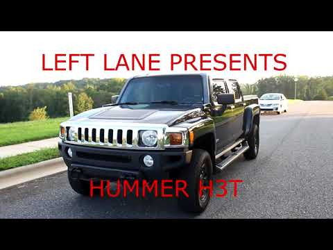 Hummer H3T manual review