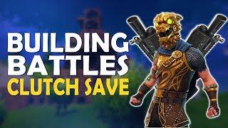 DOUBLE HEAVY SHOTGUN | BUILDING BATTLES | CLUTCH SAVE - (Fortnite Battle Royale)
