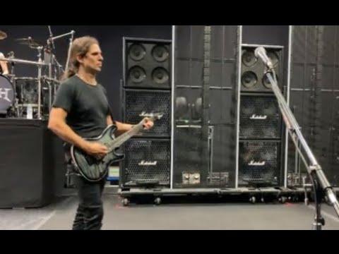 Megadeth's Dave Mustaine and Kiko Loureiro post rehearsal video for upcoming tour!