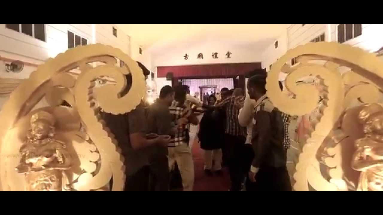 Velavan bavani wedding dinner highlight kampar perak youtube junglespirit Images