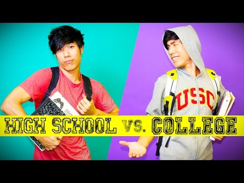 Thumbnail: High School You Vs. College You