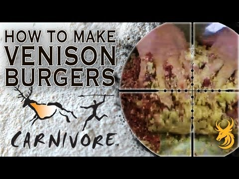 How to Make Venison Burgers