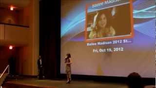 Bailee Madison Receives an Award