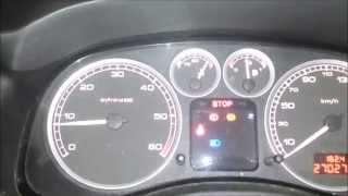 Peugeot 307 HDI temperature board problem