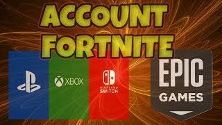TWO ACCOUNT FORTNITE AND HOW TO DISCONNECT FROM PSN, XBOX AND SWITCH