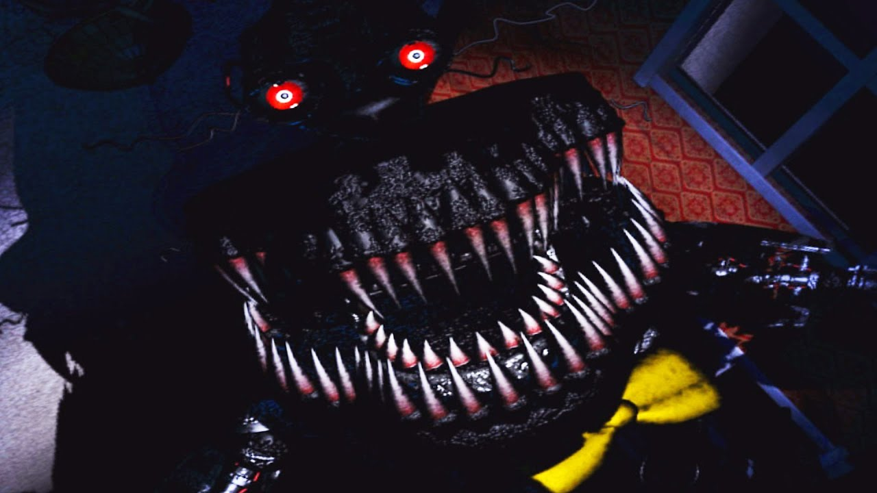 Spongebob Bedroom Five Nights At Freddy S 4 Nightmare Mode Completed