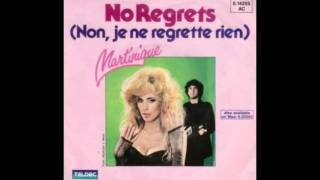 Martinique - No Regrets (Non, Je Ne Regrette Rien) (Synth Pop Cover)