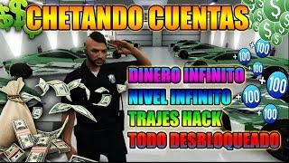 REGALANDO CUENTAS HACK DE GTA 5 A SUBS DINERO Y NIVEL INFINITO TODO DESBLOQUEADO [PS3, PS4, PC XBOX]