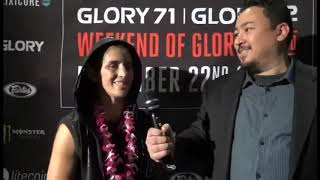 "New Women's Super-Bantamweight Champion Tiffany ""TimeBomb"" Van Soest Glory 71 Chicago"