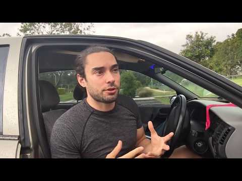 Vlog #4: Living in My Car - Solar Solutions