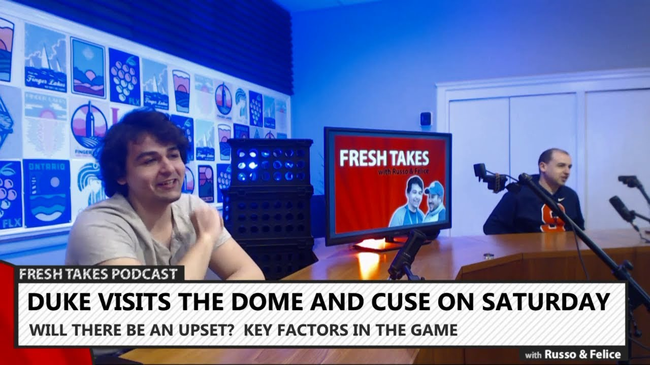Dook in the Dome, Oscar Preview & Daytona Recap .::. Fresh Takes w/ Russo & Felice 2/19/19