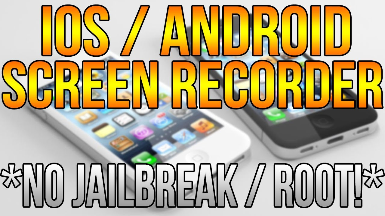iOS/Android Screen Recorder! No Jailbreak/Root! iOS 7 ...