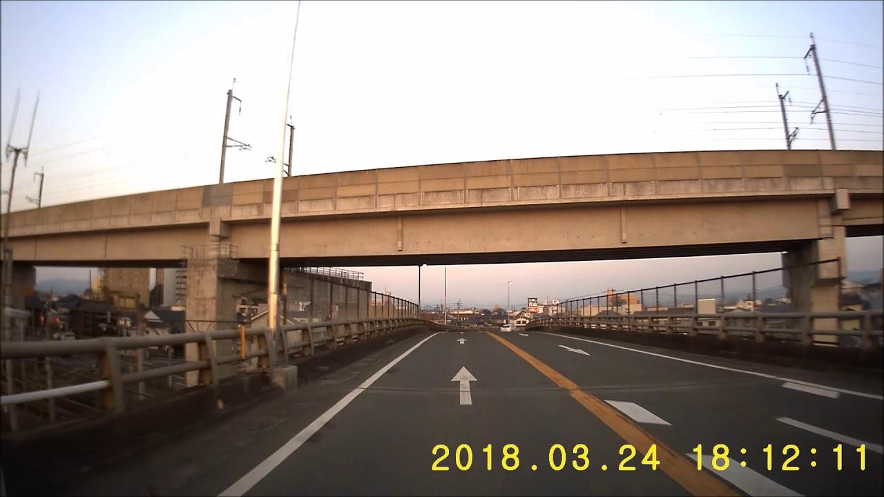 福岡県道706号線 筑後市 ループ...