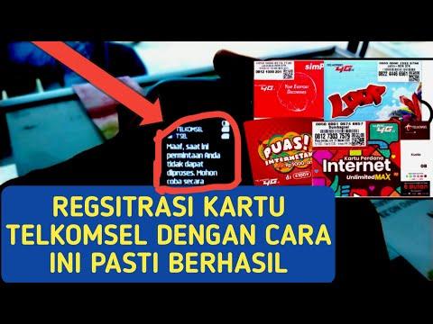 Solusi gagal registrasi kartu perdana telkomsel Assalamualaikum gaess... Selamat datang kembali di c.