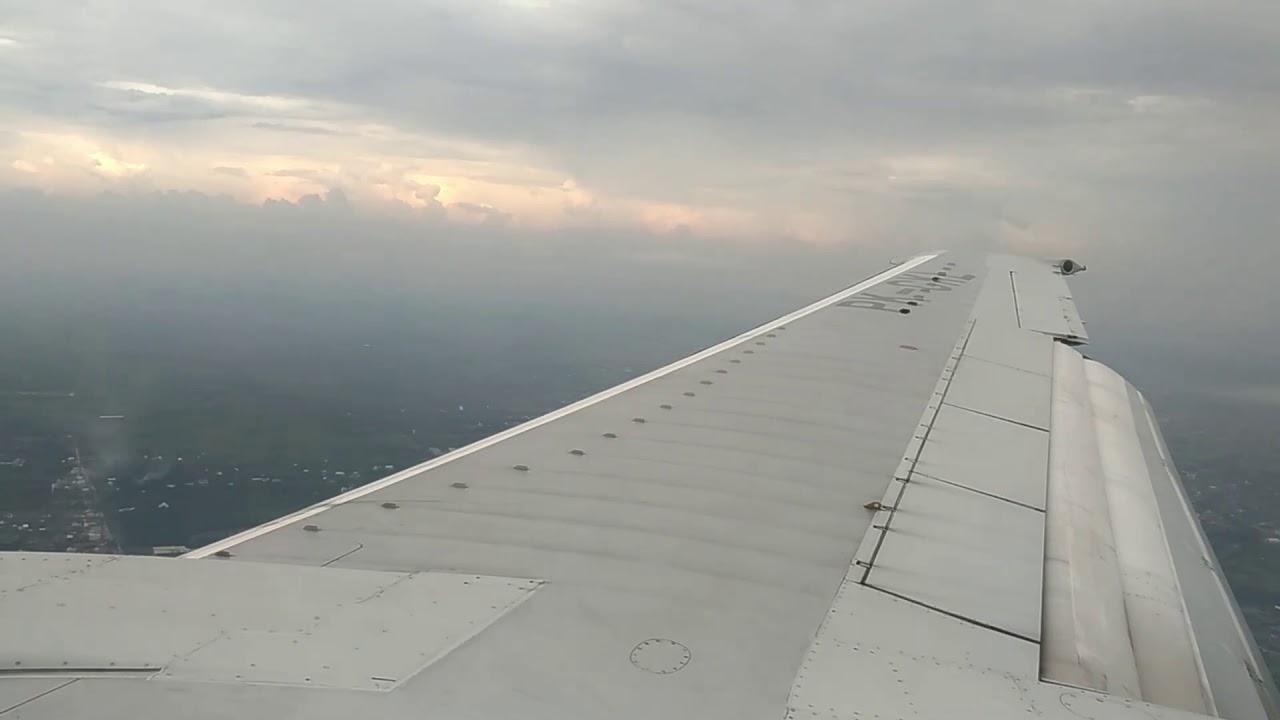 Sriwijaya Air PK-CKL Landing at Supadio International ...