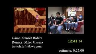 Sunset Riders (SNES) - Speed Run (18:59) AGDQ 2012
