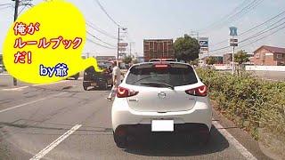【ドラレコ】国道を横切る危険爺!!