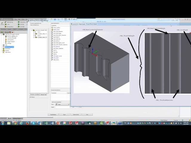 3 - SOLIDWORKS Hole Wizard Feature Recognition