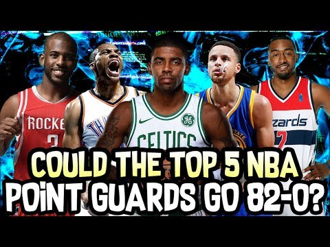 Could The Top 5 NBA Point Guards go 82-0? NBA 2K18 Simulation