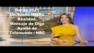 Board Member Olga Aymat Telemundo/NBC Anchor promotes Future Dreamers & Achievers
