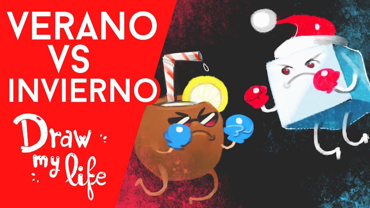 VERANO VS. INVIERNO - Draw My Life