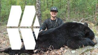 OKLAHOMA BLACK BEAR WITH BOW