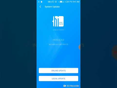 How to update tecno camon i