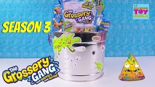 Grossery Gang Season 3 Putrid Power Present From Moose Toy Review Opening | PSToyReviews