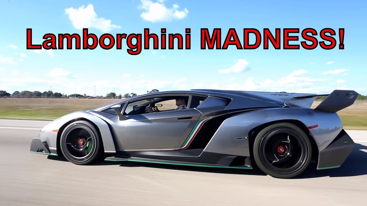 lamborghini veneno vs aventador vs huracan non stop street. Black Bedroom Furniture Sets. Home Design Ideas
