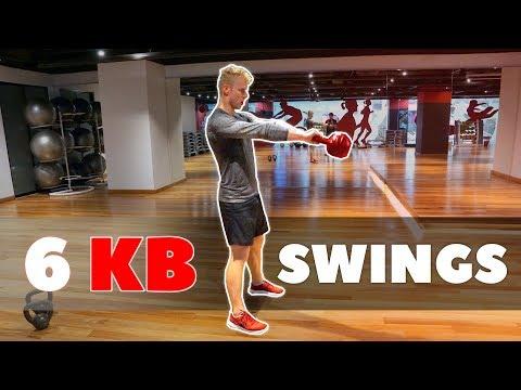 BUILD STRONG HIPS    6 Kettlebell Swings
