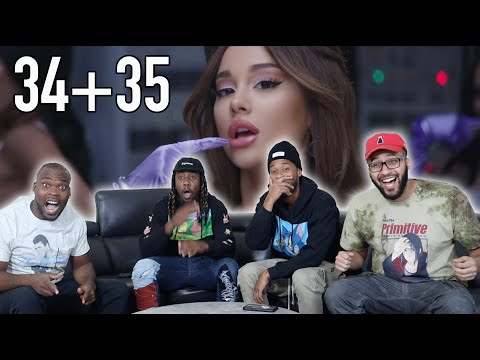 Ariana Grande - 34+35 (official video) Reaction / Review