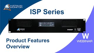 ISP Power Amplifier Series Web…
