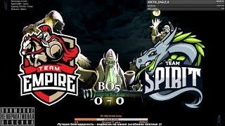 [RU] Team Empire vs. Team Spirit - CryptØmasters BO5 by @pd4liver