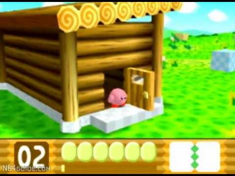Kirby 64 The Crystal Shards N64 Gameplay Youtube