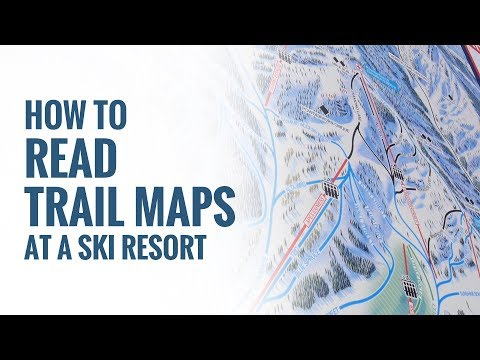 How To Read Trail Maps At A Ski Resort