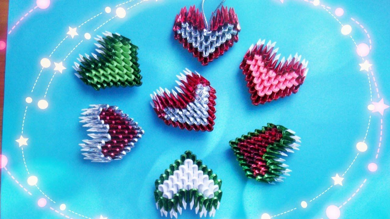 Открытки из модульного оригами