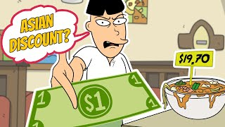 Repeat youtube video Asian Restaurant Discount Prank